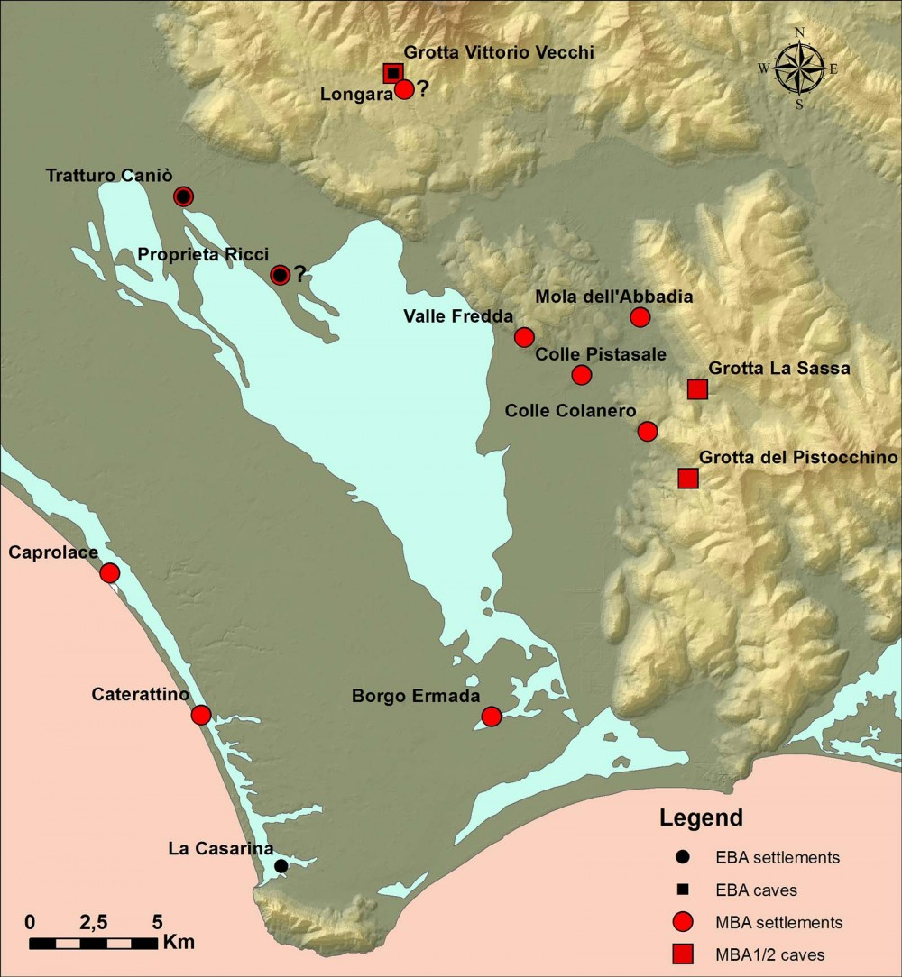Early Bronze Age and Middle Bronze Age in the Pontine Plain